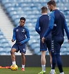 15.02.2019: Rangers training: Dapo Mebude