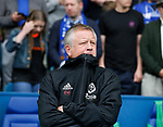Chris Wilder manager of Sheffield Utd during the Championship match at the Hillsborough Stadium, Sheffield. Picture date 24th September 2017. Picture credit should read: Simon Bellis/Sportimage