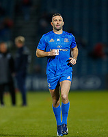 p28th February 2020; RDS Arena, Dublin, Leinster, Ireland; Guinness Pro 14 Rugby, Leinster versus Glasgow; Dave Kearney of Leinster warms up prior to kickoff