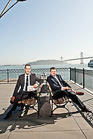 Portraits of Brian Hassan & Justin Roberts - BayPoint - 2010