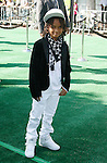 """WESTWOOD, CA. - October 26: Actor Jaden Smith arrives at the premiere of Dreamworks' """"Madagascar: Escape 2 Africa"""" at the Mann Village Theater on October 26, 2008 in Los Angeles, California."""
