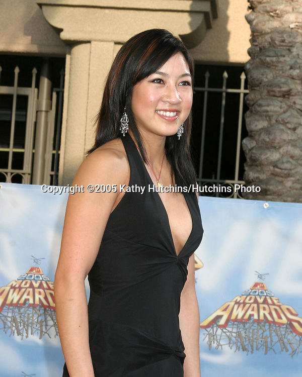 Michelle Kwan.arriving  at the MTV Movie Awards at the Shrine Auditorium, .Los Angeles, CA.June 4, 2005.©2005 Kathy Hutchins / Hutchins Photo