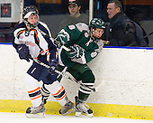 Ian Flanagan (Salem State - 14), Tim Visich (Plymouth State - 8) - The visiting Plymouth State University Panthers defeated the Salem State University Vikings 3-2 on Thursday, December 1, 2011, at Rockett Arena in Salem, Massachusetts.