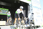 Edvald Boasson Hagen (NOR) Team Dimension Data at sign on before the 2019 E3 Harelbeke Binck Bank Classic 2019 running 203.9km from Harelbeke to Harelbeke, Belgium. 29th March 2019.<br /> Picture: Eoin Clarke | Cyclefile<br /> <br /> All photos usage must carry mandatory copyright credit (© Cyclefile | Eoin Clarke)