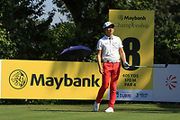 Jeunghun Wang (KOR) on the 8th tee during Round 1 of the Maybank Championship at the Saujana Golf and Country Club in Kuala Lumpur on Thursday 1st February 2018.<br /> Picture:  Thos Caffrey / www.golffile.ie<br /> <br /> All photo usage must carry mandatory copyright credit (© Golffile | Thos Caffrey)