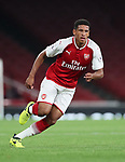 Arsenal's Marcus McGuane in action during the premier league 2 match at the Emirates Stadium, London. Picture date 21st August 2017. Picture credit should read: David Klein/Sportimage