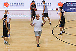 The Coaching Clinic during the Summer Super 8 at the Macao East Asian Games Dome on July 19, 2018 in Macau, Macau. Photo by Marcio Rodrigo Machado / Power Sport Images