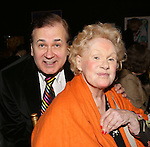 Lee Roy Reams and Tammy Grimes attends the '12th Annual Love N' Courage' celebrating David Amram and Tammy Grimes at The Players Club on March 2,, 2015 in New York City.