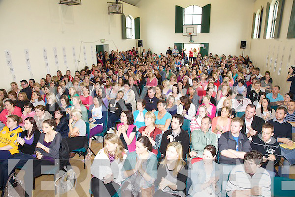 Up to 400 students are taking part in Cholaiste Hibernia, gathered here in Dromid on Sunday for a meeting outlining the aims of the course for the next 3 weeks.  Participants are representing all 26 counties including 1 from the North and 1 from Germany.
