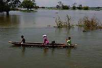 La Nina weather pattern that triggered storms and floods in Colombia was the worst in the country's history. May 2011. ViewPress/ Joana Toro