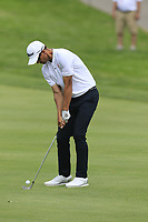 Adam Scott (AUS) plays his 3rd shot on the 10th hole during Saturday's Round 3 of the WGC Bridgestone Invitational 2017 held at Firestone Country Club, Akron, USA. 5th August 2017.<br /> Picture: Eoin Clarke | Golffile<br /> <br /> <br /> All photos usage must carry mandatory copyright credit (&copy; Golffile | Eoin Clarke)