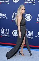 07 April 2019 - Las Vegas, NV - Carrie Underwood. 2019 ACM Awards at MGM Grand Garden Arena, Arrivals. Photo Credit: mjt/AdMedia