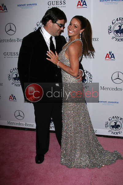 Jason Davis and Rachel Uchitel<br />