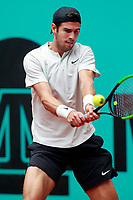 Karen Khachanov, Russia, during Madrid Open Tennis 2018 match. May 7, 2018.(ALTERPHOTOS/Acero) /NortePhoto.com