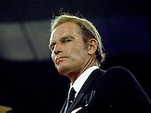 """Academy Award winning actor and political activist Charlton Heston (October 4, 1923 - April 5, 2008) is photographed at the 1972 Republican National Convention in Miami, Florida in August, 1972.  Heston was known for his roles in epic movies such as """"The Ten Commandments"""" and """"Ben-Hur"""" and later for his support of conservative political causes and was president of the National Rifle Association (NRA) from 1998 to 2003..Credit: Arnie Sachs / CNP"""