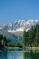 Mt. Muir, Chugach mountains, Prince William Sound, Alaska