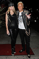 STUDIO CITY, CA - JUNE 23: Christina Fulton and KUBA Ka attend Polish Popstar KUBA Ka's concert at La Maison in Studio City on June 23, 2013 in Studio City, California. (Photo by Celebrity Monitor)