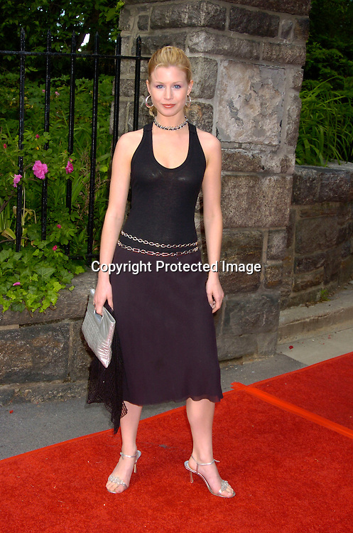 Stephanie Gatschet of Guiding Light ..at the Pre Daytime Emmy party at Gracie Mansion on..May 20, 2004