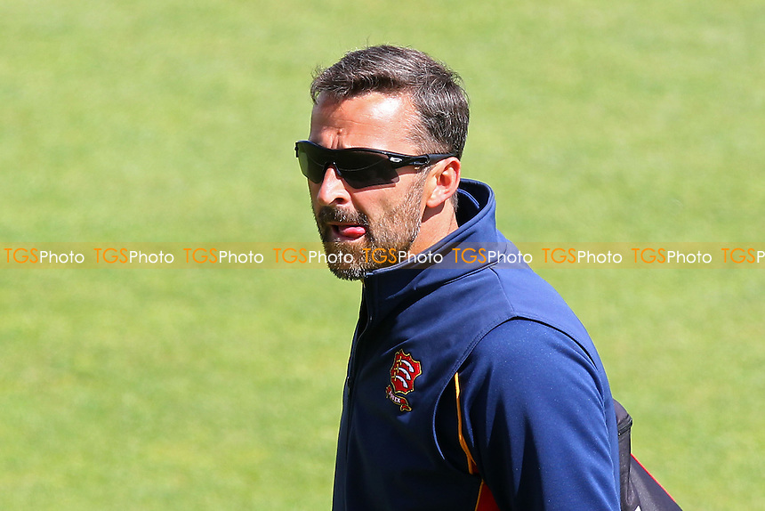 Essex head coach Paul Grayson walks back from the warm-up - Hampshire CCC vs Essex CCC - LV County Championship Division Two Cricket at the Ageas Bowl, West End, Southampton - 17/06/14 - MANDATORY CREDIT: Gavin Ellis/TGSPHOTO - Self billing applies where appropriate - 0845 094 6026 - contact@tgsphoto.co.uk - NO UNPAID USE