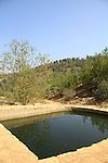 Judea, Dubek Pool at Ein Sajma in Gush Etzion