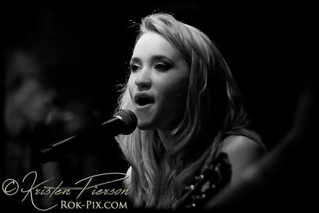 Emily Osment performing in Providence on November 24, 2009