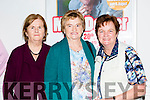 mary O'mahony and Sheila O'Dowd Castleisland and Margaret O'Connor Brosna at the Daniel O'Donnell concert in the INEC on Tuesday night