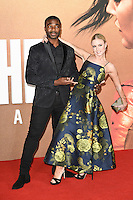 LONDON, UK. October 20, 2016: Ore Oduba &amp; Joanne Clifton at the premiere of &quot;Jack Reacher: Never Go Back&quot; at the Cineworld Empire Leicester Square, London.<br /> Picture: Steve Vas/Featureflash/SilverHub 0208 004 5359/ 07711 972644 Editors@silverhubmedia.com