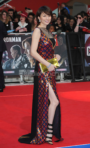LONDON, ENGLAND - APRIL 26: Royoko Yonekura attends the European premiere of Captain America: Civil War at Westfield Shopping Centre on April 26, 2016 in London, England.<br /> CAP/BEL<br /> &copy;BEL/Capital Pictures /MediaPunch ***NORTH AMERICAN AND SOUTH AMERICAN SALES ONLY***