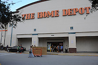 COCONUT CREEK, FL - OCTOBER 05: People stock up on supplies at Home Depot in wake of Hurricane Matthew which is set to hit south Florida late in the day Thursday on October 5, 2016 in Coconut Creek , Florida. Credit: mpi04/MediaPunch