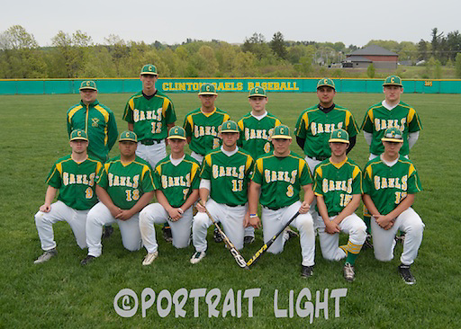 The members of the 2013 CHS baseball team are (front, from left) seniors Sean Kilcoyne, Eliel Colina, Matt Notaro, captain Kyle Cutler, captain Matt McEvilly, Donnie Dobeck and Alex Santiago; and (back, from left) coach Mike Frick, junior Jake Hatch, junior Josh Bahnick, freshman Tom Russell, freshman Frank Matos and sophomore Andrew Grady.
