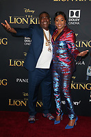 HOLLYWOOD, CA - JULY 9: Tracy Morgan and Tiffany Haddish at The Lion King Film Premiere at El Capitan Theatre in Hollywood, California on July 9, 2019. <br /> CAP/MPIFS<br /> ©MPIFS/Capital Pictures