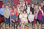 Birthday Girl - Karen McKenna from Meadowlands, seated centre having a ball with friends and family at her suprise 30th birthday party held in O'Donnell's of Mounthawk on Saturday night.