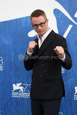 Nicolas Winding Refn attends the photocall of 'Dawn Of The Dead - European Cut' during the 73rd Venice Film Festival at Palazzo del Casino on September 2, 2016 in Venice, Italy. <br /> CAP/GOL<br /> &copy;GOL/Capital Pictures /MediaPunch ***NORTH AND SOUTH AMERICAS ONLY***