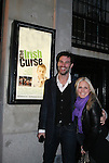 As The World Turns' Terri Colombino and Austin Peck at the Opening Night of the off-Broadway play The Irish Curse on March 28, 2010 at the Soho Playhouse, New York City, New York. (Photo by Sue Coflin/Max Photos)