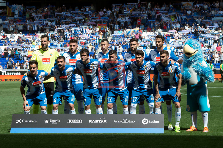 League Santander 2016/2017. Game: 37.<br /> RCD Espanyol vs Valencia CF: 0-1.