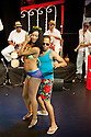 """Havana Rumba!"", the Cuban Salsa, Rumba, Rum and Reggaeton show returns to the UK. Being performed in the upside down cow venue, The Udderbelly, on the Southbank, the show runs from Wednesday 20th May to Sunday 8th July 2012. Picture shows: Yuyu Vega Ruiz and Papito Chango."