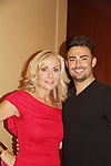 Judy McLane and All My Children's Jonathan Bennett (JR Chandler) - 30th Anniversary of the Jane Elissa Extravaganza to benefit The Jane Elissa Charitable Fund for Leukemia & Lymphoma Cancer, Broadway Cares & other charities on October 30. 2017 at the New York Marriott Marquis, New York, New York. (Photo by Sue Coflin/Max Photo)