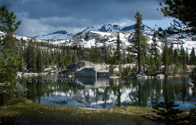 Upper Velma Lake - Desolation Wilderness