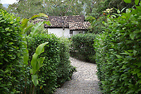 Pathway at the Hacienda San Lucas, Ruinas Copan, Honduras