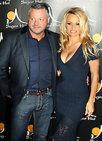 Brentwood, Essex -  Pamela Anderson makes a personal appearance at Sugar Hut nightclub, Brentwood, Essex - April 20th 2012..Photo by Garry Cave
