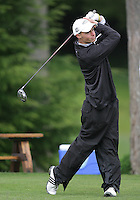 21 May, 2010:   Eastern Michigan's Nick Carbary drives the ball down the fairway on the 13th hole during day two of the NCAA West Regional First Round at Gold Mountain Golf Course in Bremerton, Washington.