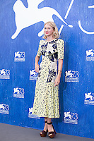 Naomi Watts  at the photocall for The Bleeder at the 2016 Venice Film Festival.<br /> September 2, 2016  Venice, Italy<br /> CAP/KA<br /> &copy;Kristina Afanasyeva/Capital Pictures /MediaPunch ***NORTH AND SOUTH AMERICAS ONLY***