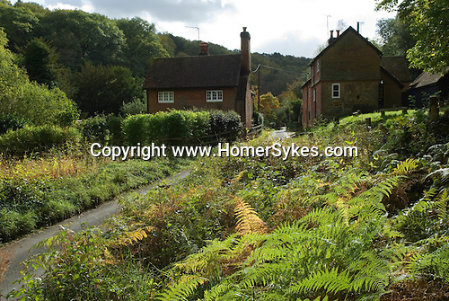 Friday Street. Leith Hill Surrey UK .The Hamlet of Friday Street, on the Lower Slopes of Leith Hill.