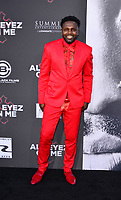 """WESTWOOD, CA - JUNE 14: Rayan Lawrence at the """"All Eyez On Me"""" Los Angeles Premiere at Westwood Village Theaters in Westwood, California on June 14, 2017. Credit: Koi Sojer/Snap'N U Photos/MediaPunch"""