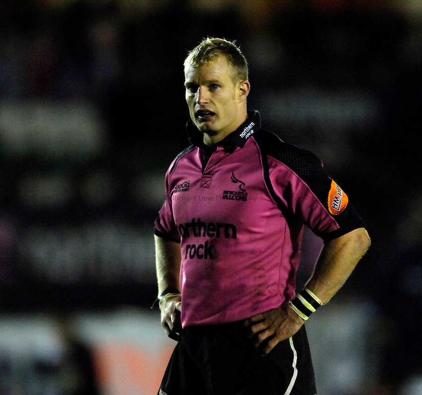 Photo: Jed Wee..Newcastle Falcons v Llanelli Scarlets. EDF Anglo-Welsh Cup. 06/10/2006...Newcastle's Jamie Noon.