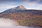 Fall foliage on Mount Chocorua in Tamworth, White Mountains, NH