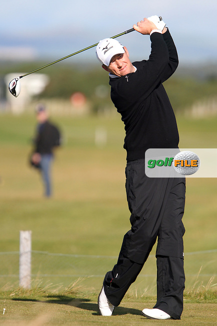 Gary Orr (SCO) on Wednesday's Practise Day at the Alfred Dunhill Links Championship, Old Course St. Andrews, Carnoustie and Kingsbarns, Scotland...(Photo Jenny Matthews/www.golffile.ie)