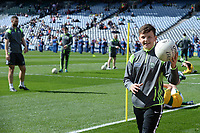 17-1-2017: Kerry minor Ballboy Micheal Keane in the All-Ireland Football final at Croke Park on Sunday.<br /> Photo: Don MacMonagle