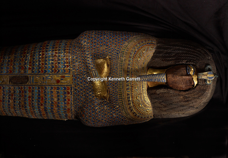 mm7864; 18th Dynasty; New Kingdom; Egypt; The Egyptian Museum; Cairo; Akhenaten, coffin, KV55