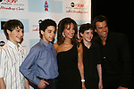 All My Children's Susan Lucci -& Cameron Mathison pose with Billy Elliot Musical on Bway as theyi attend the after party of ABC and SOAPnet's Salutes to Broadway Cares/Equity Fights Aids on March 9, 2009 at the New York Marriott Marquis, New York, NY.  (Photo by Sue Coflin/Max Photos)